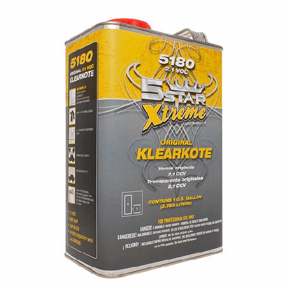 Five Star 5180  XTREME 2.1 Clearcoat 5180 Gallon***
