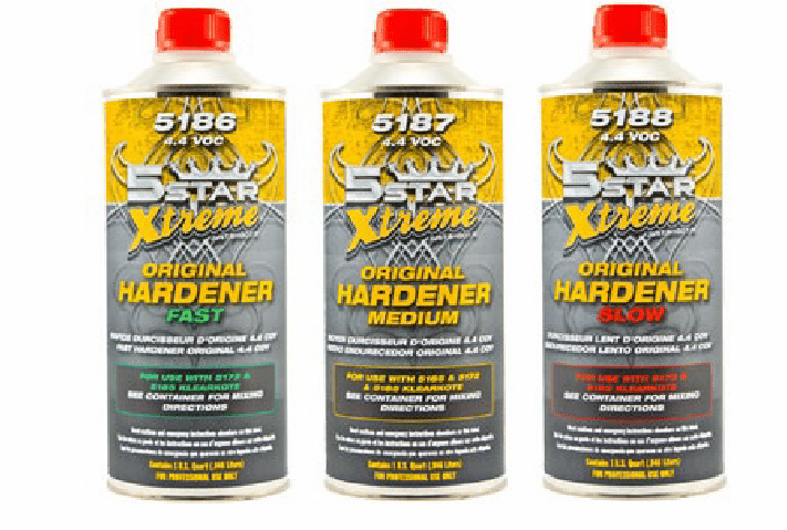 Five Star 5186 Activator 5186 for 5185 clear 1/ea Quart size can ****