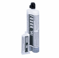 Fusor clear plastic structural installation adhesive fast set 141 10.1oz