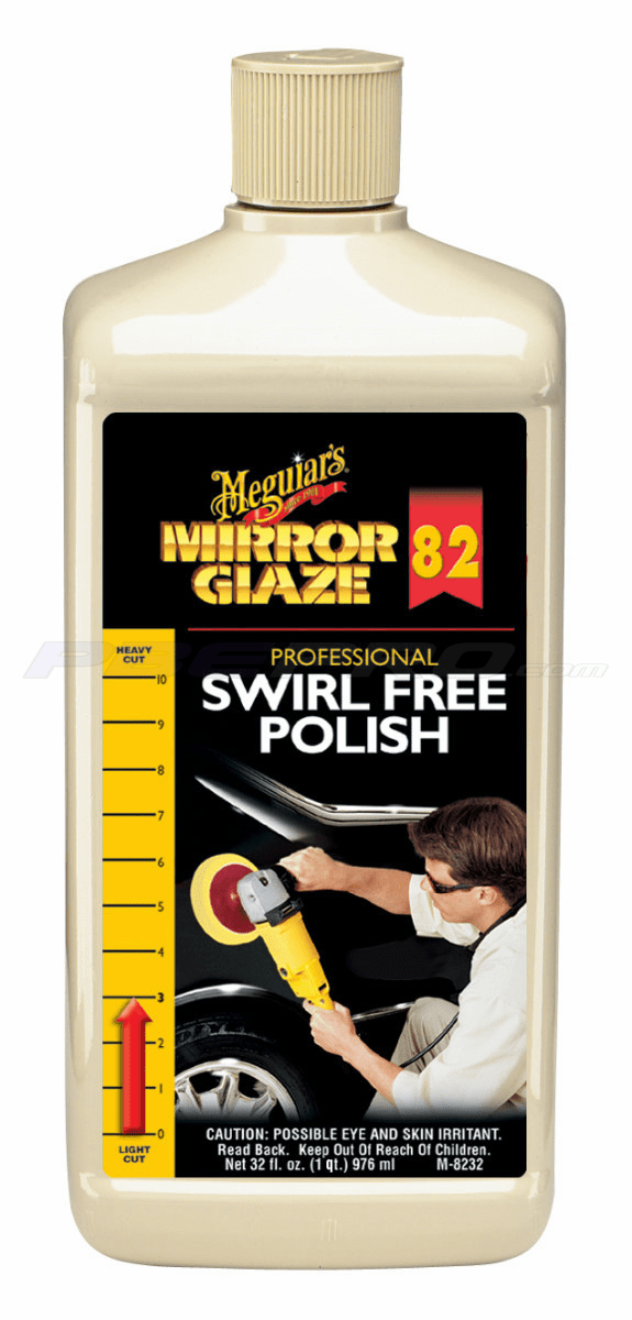 Meguiars M8232 Body Shop Professional Swirl Free Polish 1/quart
