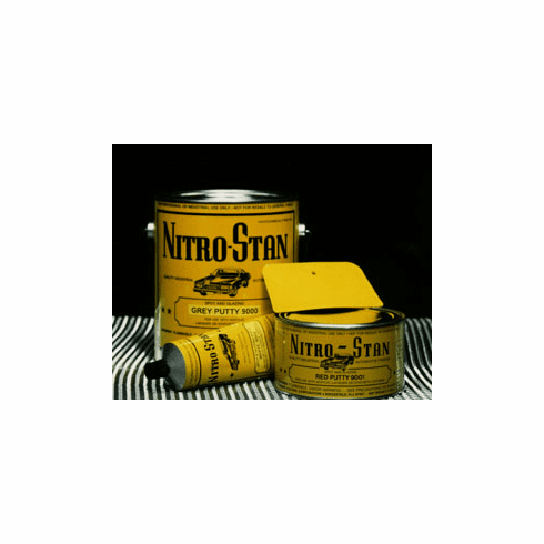 Nitro Stan 9001-4, 9002-4 Spot and Glazing Putty Red or White 1/ea Quart size