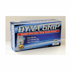SAS Safety corp 6501001 Dyna GripTM PF Latex Gloves 1 box of 100/ea