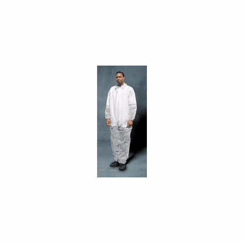 Large SAS Safety 6843 Polypropylene Disposable Coverall