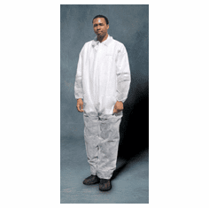 SAS Safety Corp 6843, 6844, 6845 Survivair Polypropylene Disposable Coverall 1/ea