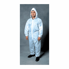 SAS Safety Corp. 6937, 6938, 6939, 6940 Moonsuit Nylon/ Cotton Coverall 1/ea