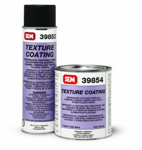 SEM 39854 - TEXTURE COATING Black 1/ea quart