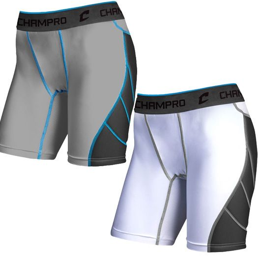 Champro Windmill Women s Softball Sliding Short BPS16 081fba0e57