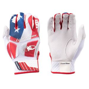 "Lizard Skins INDEPENDENCE ""USA"" Komodo Pro Adult Batting Gloves KOP"
