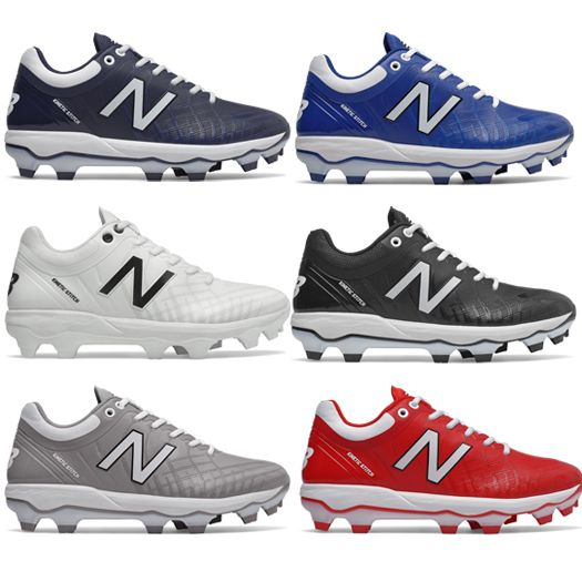 dea0719c New Balance Molded Baseball Cleats 4040v5 Low Men's Baseball Cleat ...