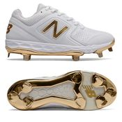 New Balance VELOv1 White/Gold Women's Fastpitch Cleat SMVELOX1