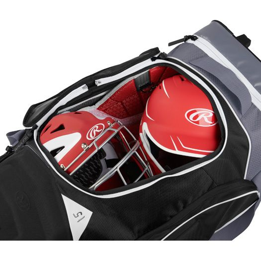 Rawlings Baseball Wheeled Equipment Catcher S Bag R1502