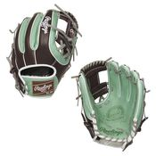 """Rawlings Pro Preferred 11.5"""" Limited Edition Mint Chocolate Infield Baseball Glove PROS314-2OMC"""