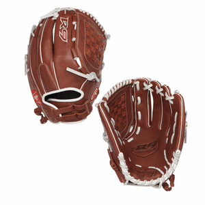 "Rawlings R9 12.5"" Fastpitch Softball Glove R9SB125FS-3DB"