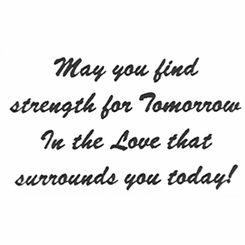 May You Find Strength