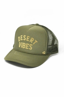 Mother Trucker Desert Vibe Green Hat
