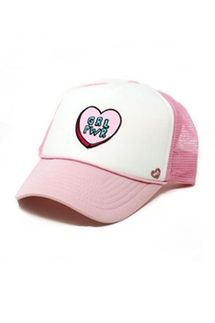 Mother Trucker KIDS Girl Power Pink Hat