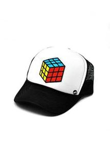 Mother Trucker KIDS Rubik's Cube Hat