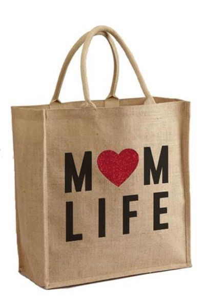 Mother Trucker Mom Life Tote Bag