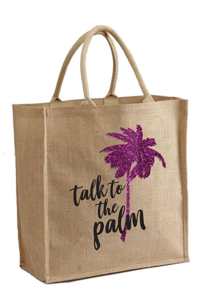 Mother Trucker Talk To The Palm Tote Bag