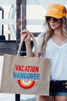 Mother Trucker Vacation Hangover Tote Bag