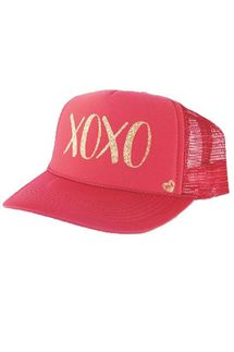 Mother Trucker XOXO Red Hat