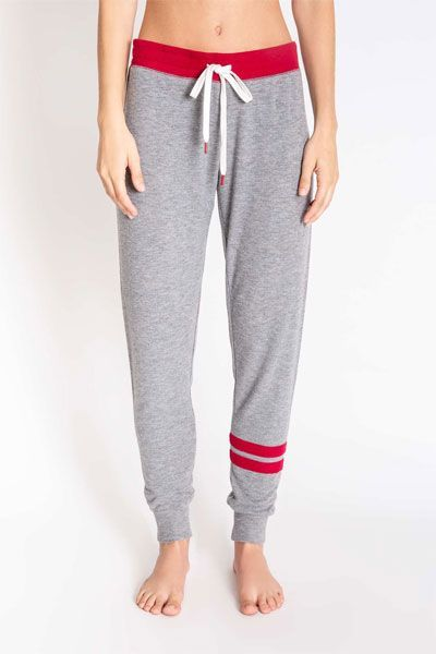 PJ Salvage All Things Love Gray Banded Pant