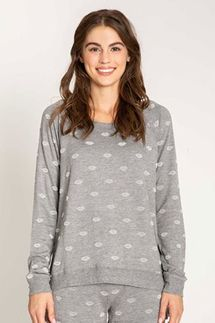 PJ Salvage Amour Love Long Sleeve and Banded Pant Set