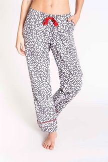 PJ Salvage Animal Print Pajama Pant