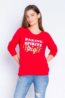 PJ Salvage Baking Spirits Bright Long Sleeve