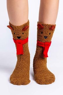 PJ Salvage Bear Socks