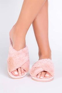 PJ Salvage Blush Slipper Slides