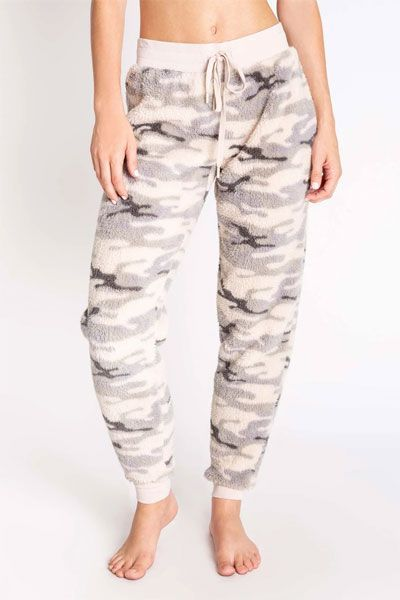 PJ Salvage Camo Cozy Banded Pant