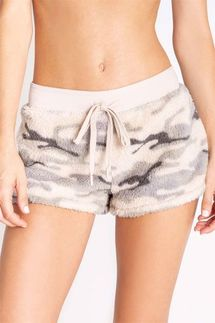 PJ Salvage Camo Cozy Short