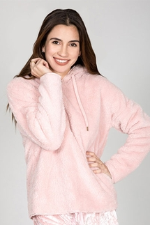 PJ Salvage Cozy Blush Hoody