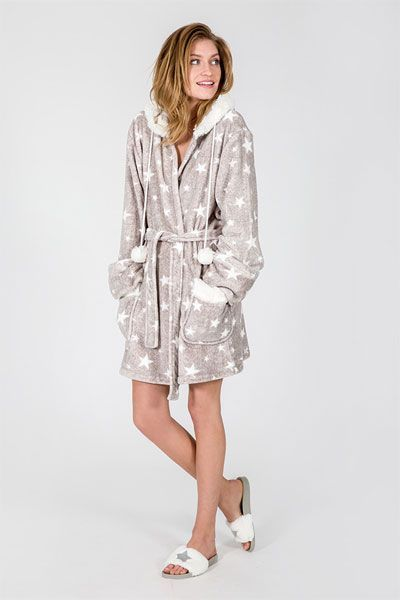 PJ Salvage Cozy Star Robe