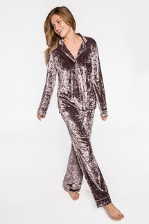 PJ Salvage Crushin' It Mink Pajama Set