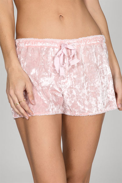 PJ Salvage Crushin' It Pink Short