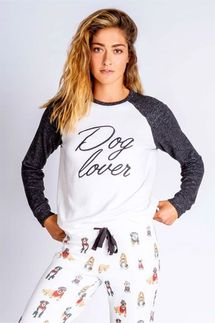 PJ Salvage Dog Lover Long Sleeve