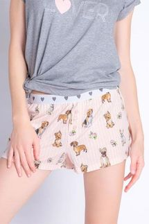 PJ Salvage Dog Lover Short