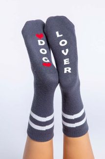 PJ Salvage Dog Lover Socks