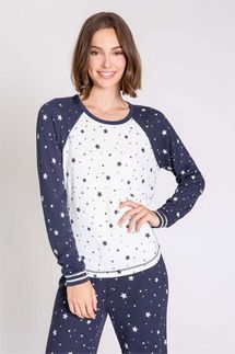 PJ Salvage Dream Mix Long Sleeve Top