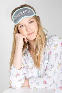 PJ Salvage Drinks Pajama Set with Eye Mask