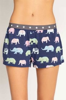PJ Salvage Elephant Short