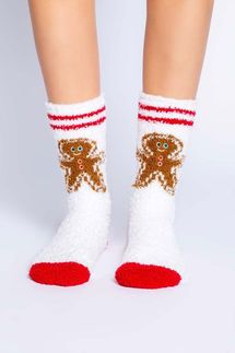 PJ Salvage Gingerbread Socks