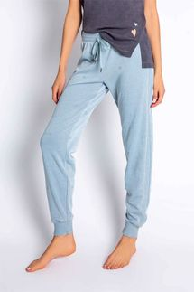 PJ Salvage Groovy Kind of Love Peace Sign Banded Pant