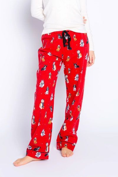 PJ Salvage Happy Howlidays Flannel Pant