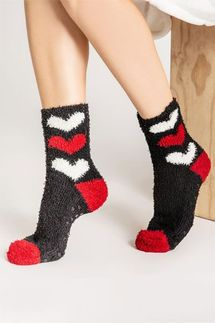 PJ Salvage Heart Socks