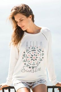 PJ Salvage Hello Sunshine Long Sleeve Top