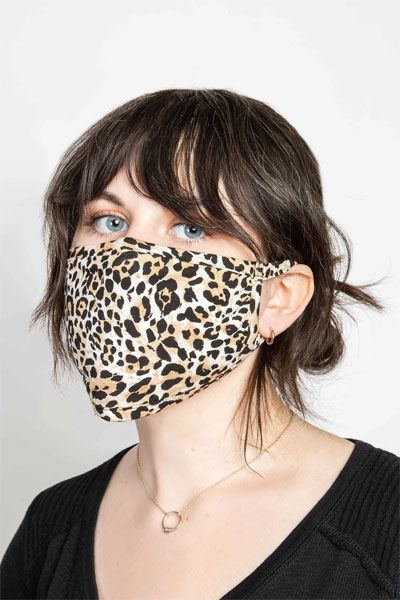 PJ Salvage Leopard Face Mask