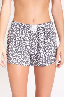 PJ Salvage Leopard Short